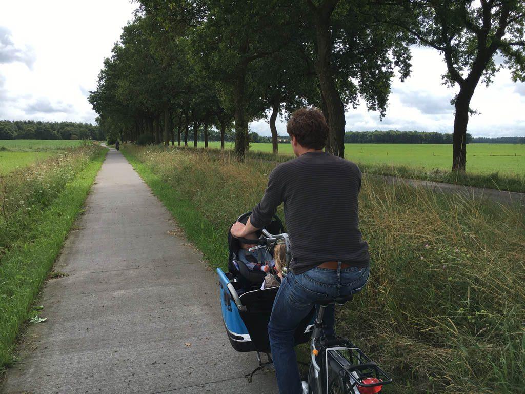 Met de bakfiets naar Veenhuizen