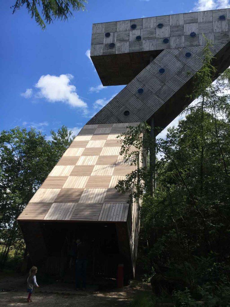 Uitkijktoren in het Drents-Friese Wold