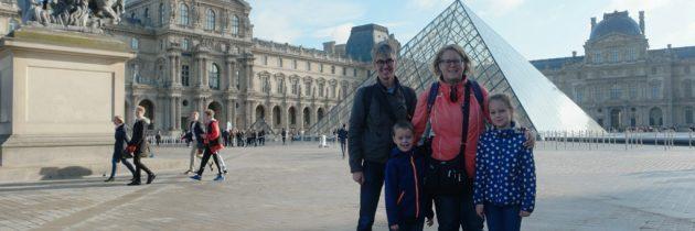 Het Louvre met kinderen bezoeken: Mona Lisa en Egyptische afdeling