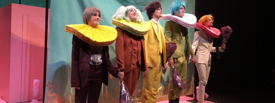 Het Neushoorn Spektakel, een opzwepende muziektheatervoorstelling