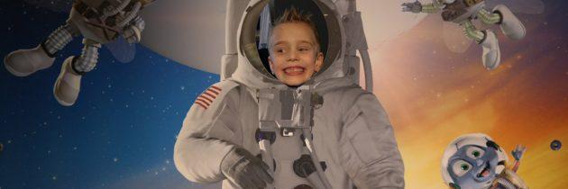Animatiefilm Fly me to the moon in het Omniversum Den Haag