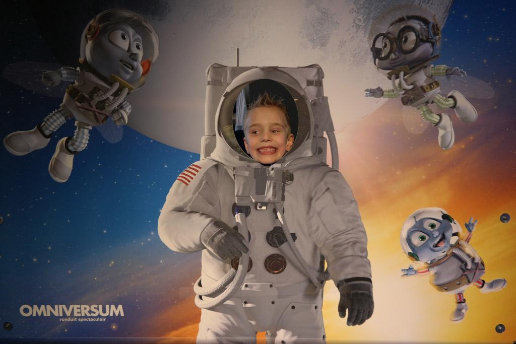 Zelf een astronaut.