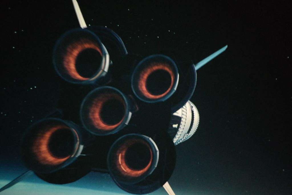 De Apollo 11. Net echt....