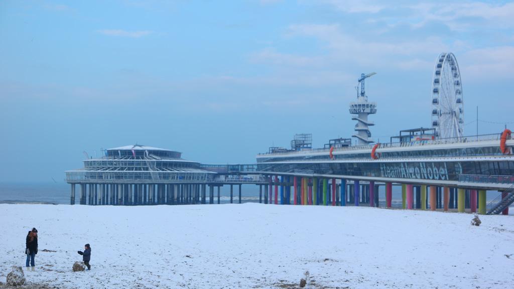 Op weg naar de Scheveningse Pier.