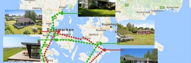 Rondreis Denemarken langs vakantiewoningen: 2 routes