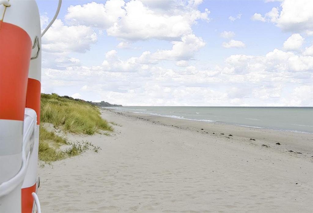 Strandhuisjes in Denemarken Huis 1 strand