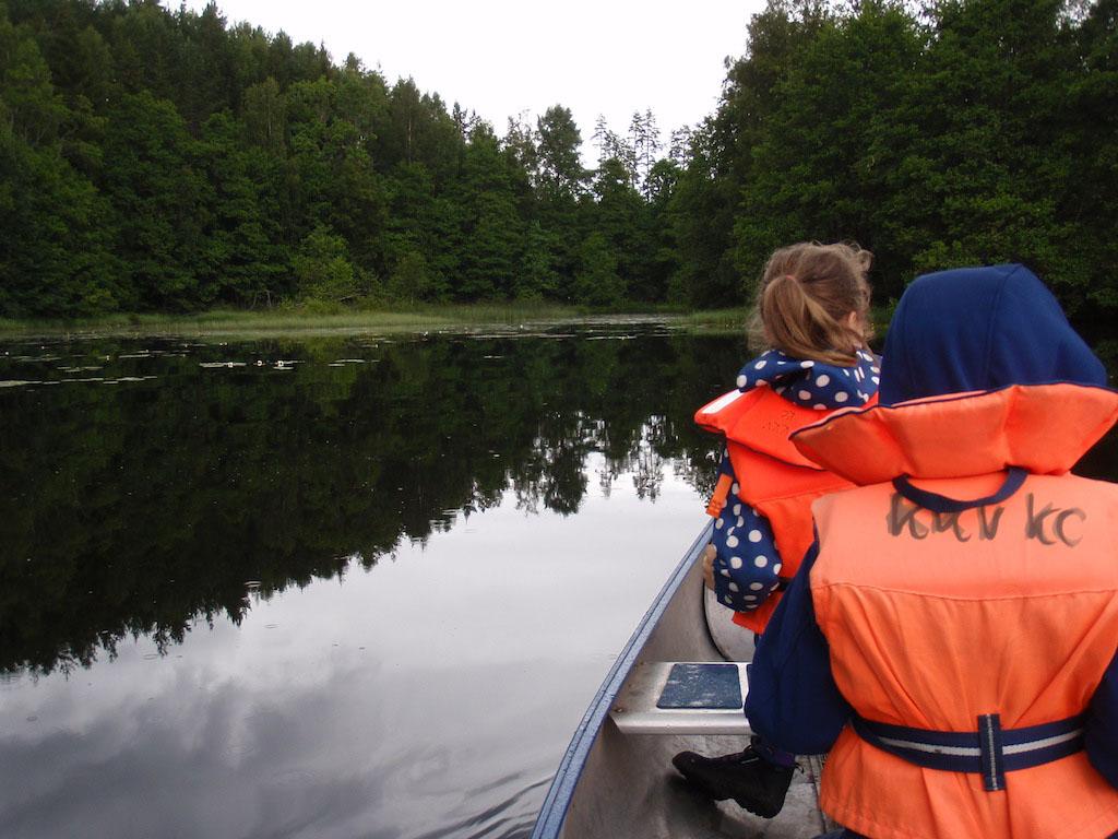 Check: kanoen tijdens de vakantie.