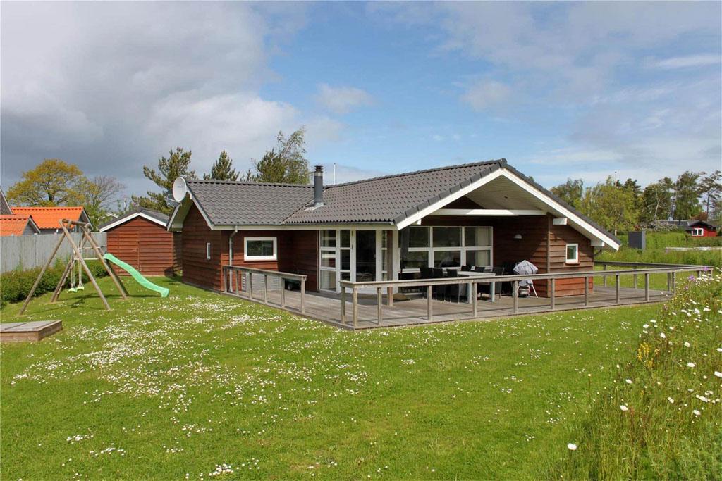 Dit vakantiehuis op Funen is erg geschikt voor gezinnen.