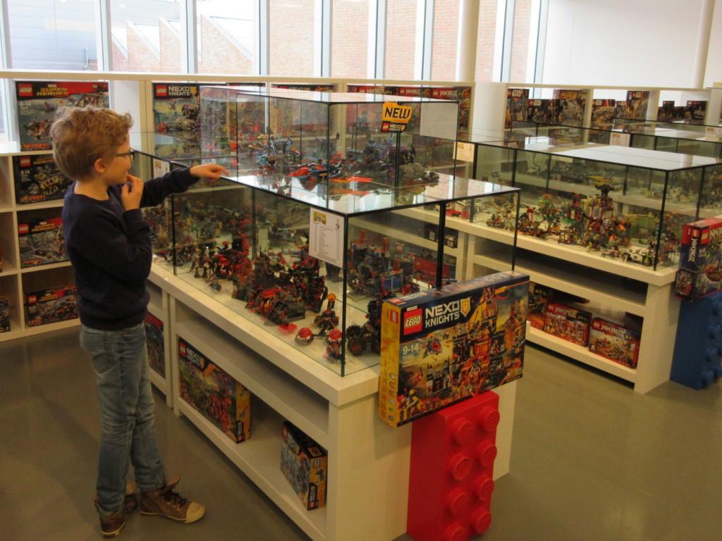 De Lego-winkel is al een soort mini-museum