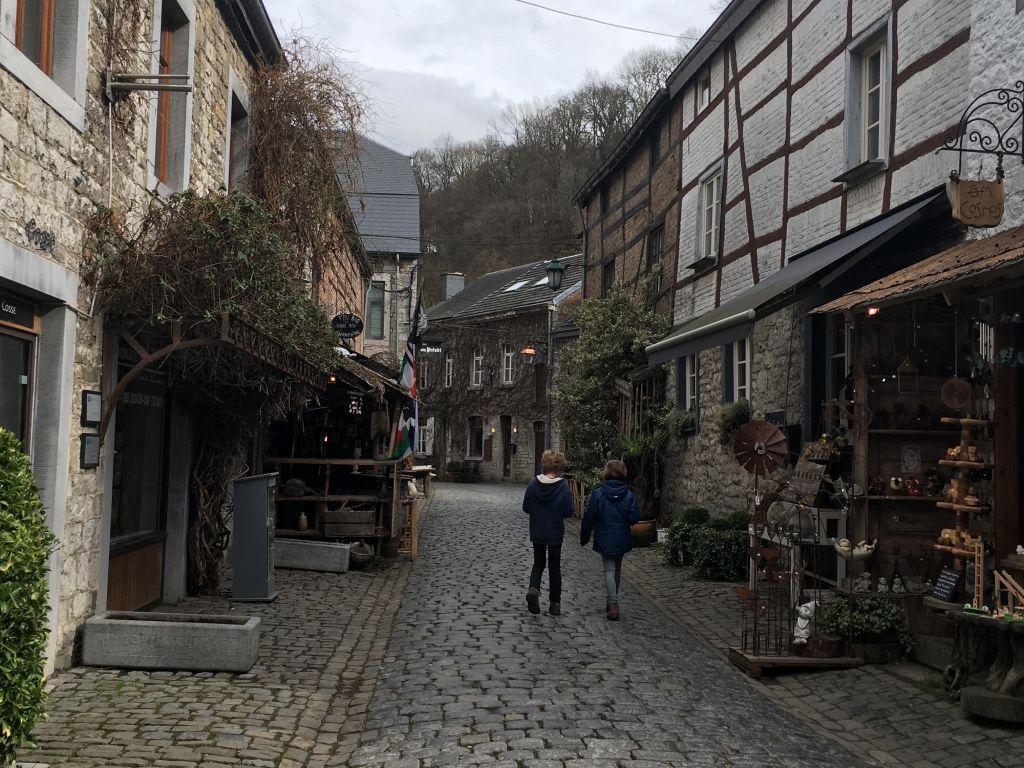Slenteren door de oude binnenstad