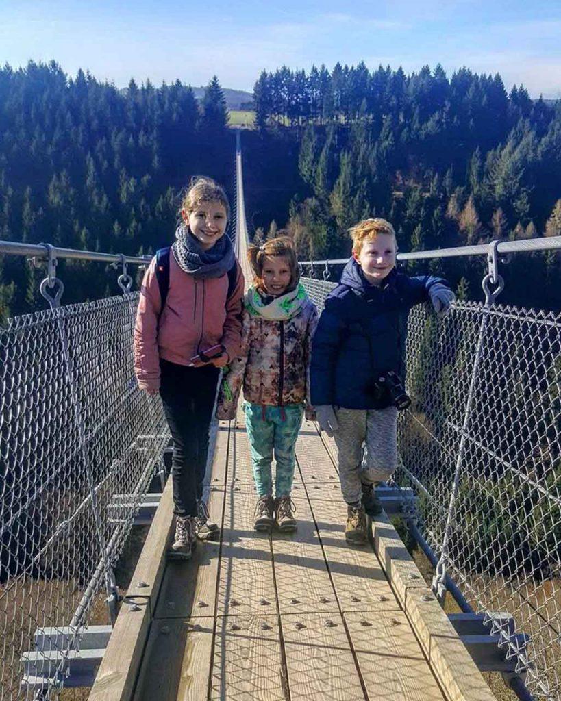 De Geierlay met kinderen is een uniek avontuur op hoogte!
