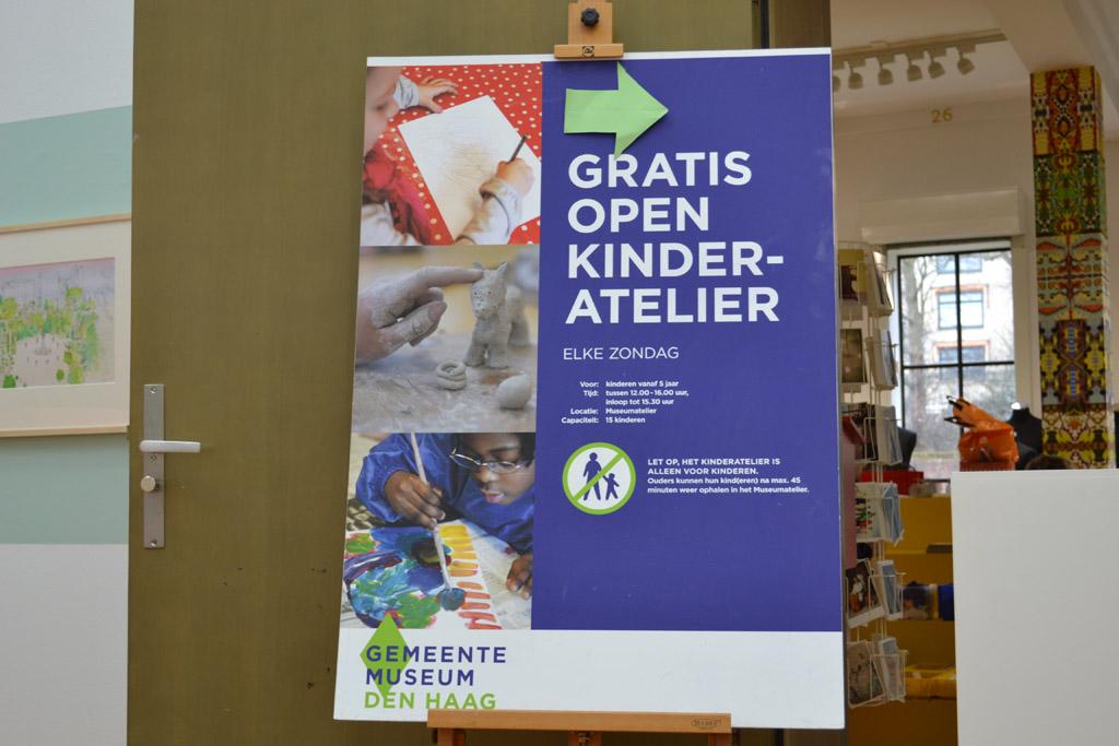 Gemeentemuseum Den Haag met kinderen