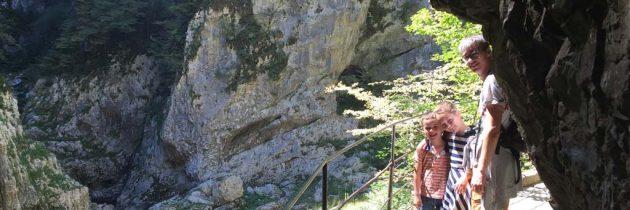 Grotten van Škocjan met kinderen bezoeken? Gegarandeerd een indrukwekkende wandeling
