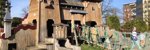 Speeltuin Elckerlyc, een avontuurlijke speeltuin in Oss
