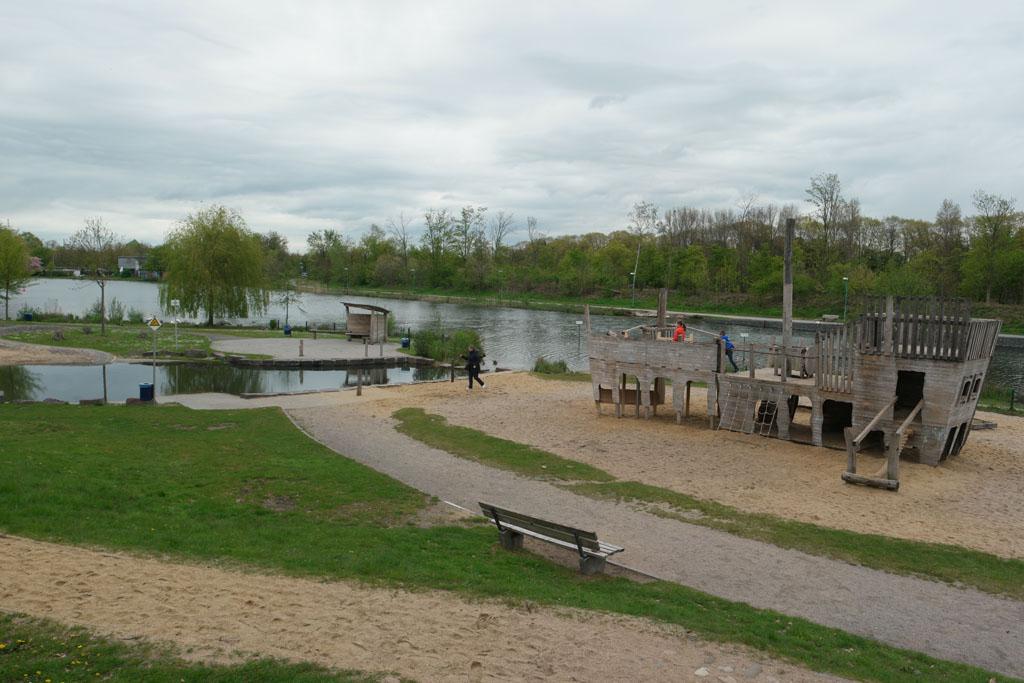 Een heerlijke plek voor in de zomer om te relaxen en te spelen met water.