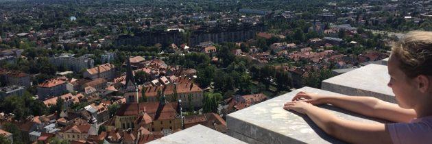 Ljubljanski grad, het indrukwekkende kasteel van Ljubljana