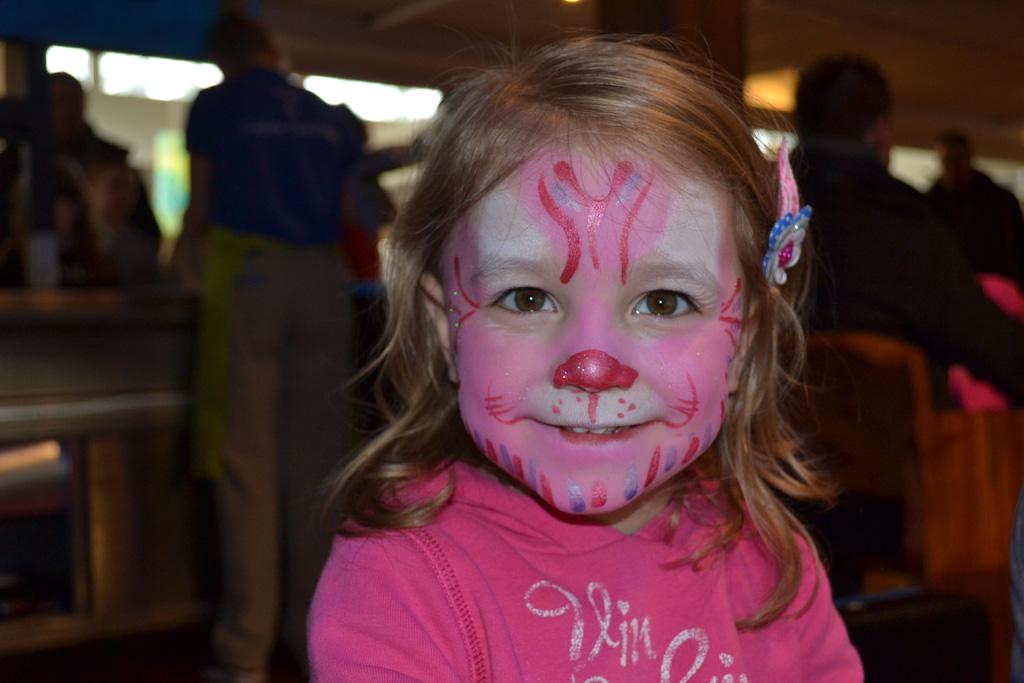 Een roze tijger?