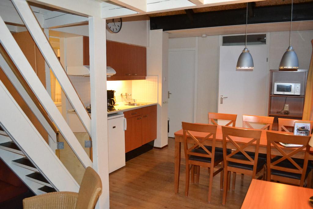 Een kleine, maar complete keuken