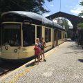 De eindhalte van de Postlingbergbahn in Linz