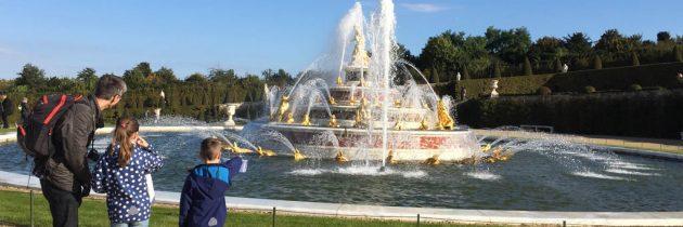 Paleis van Versailles met kinderen bezoeken? Dan mag je de fonteinshow niet missen