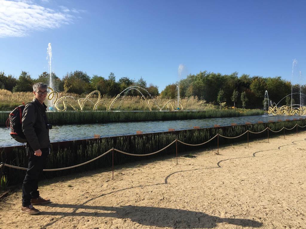 Wat genieten we van de tuinen van het Paleis van Versailles.