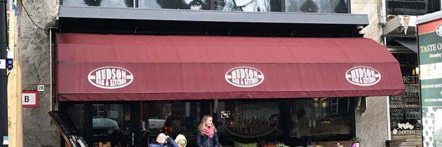 Uit eten bij Hudson Rotterdam met kinderen