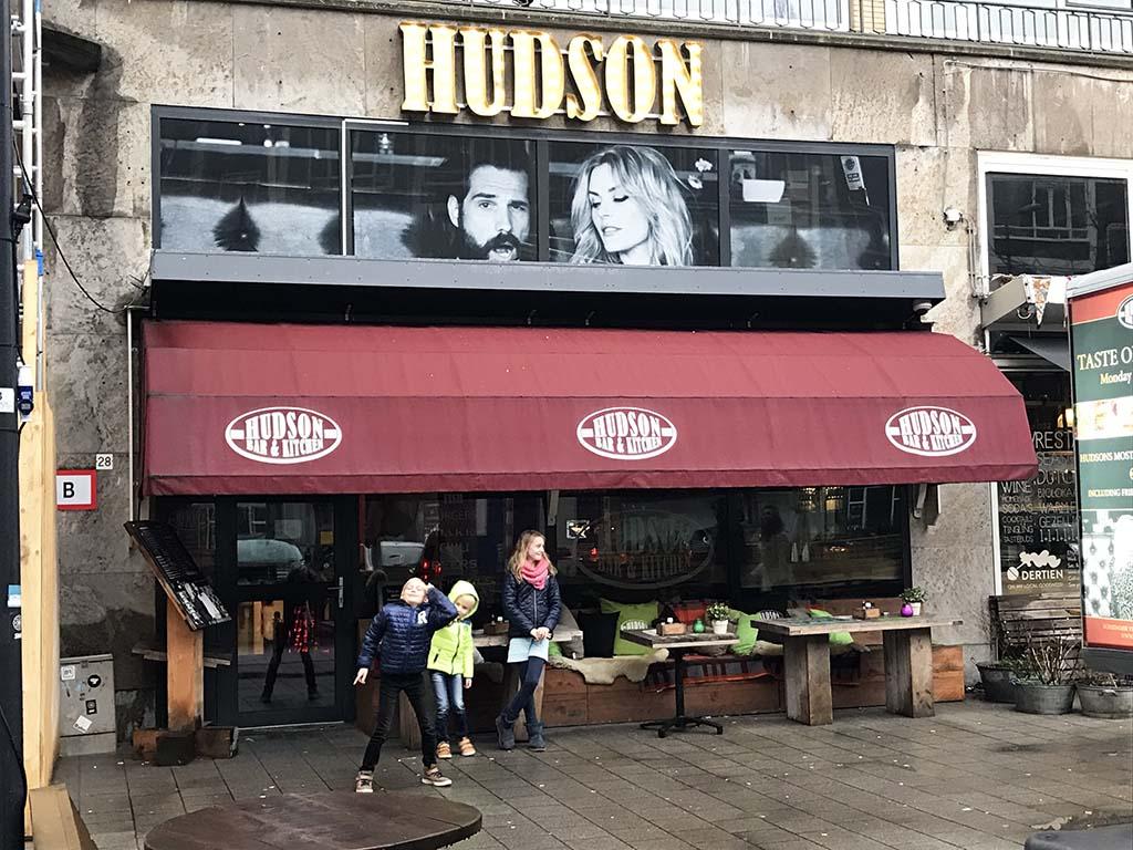 Hudson Rotterdam heeft een stoere uitstraling