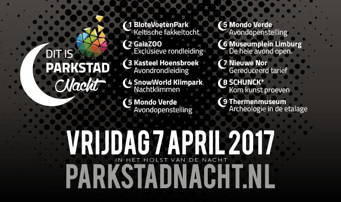 Er is genoeg te doen tijdens de eerste editie van Dit is Parkstad Nacht