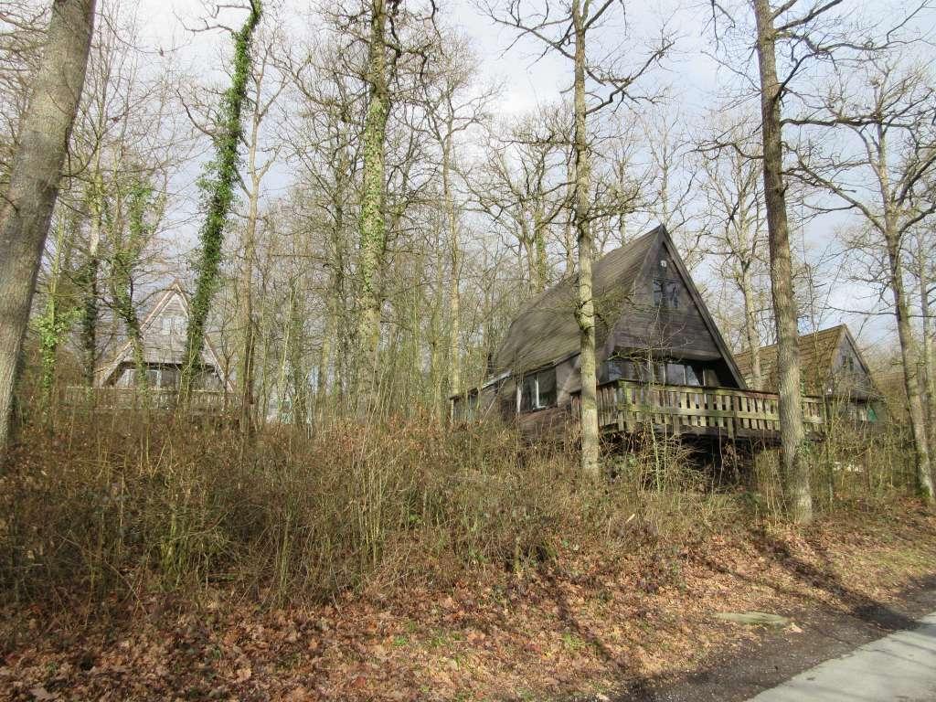 Enkele huisjes van vakantiepark Sunclass Durbuy