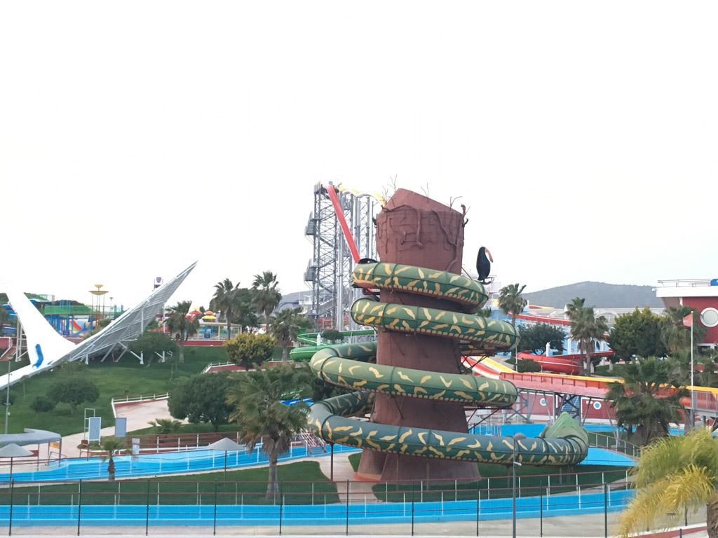 Uitzicht vanaf je balkon voor als je langer wilt genieten van waterparken in de Algarve