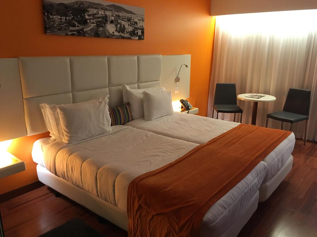 De hotelkamer