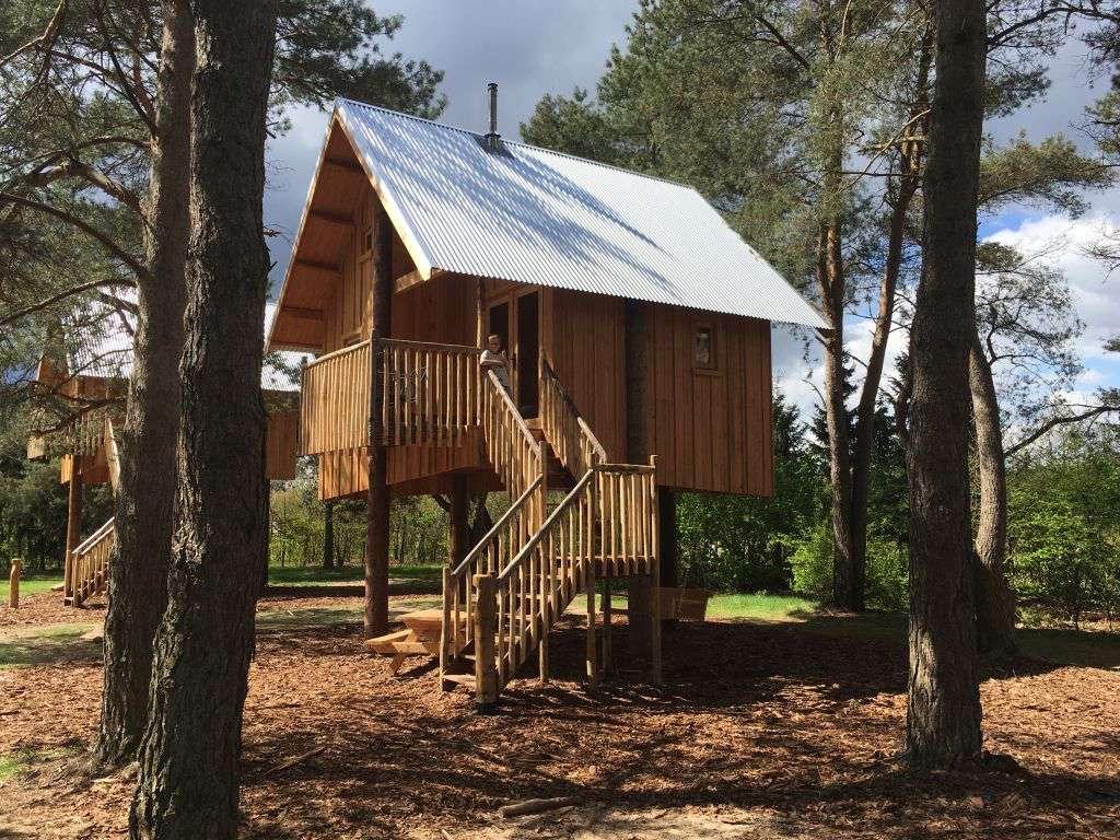 Zwerfhut op Hoogte, een unieke kans om te slapen in een boomhut op de Veluwe