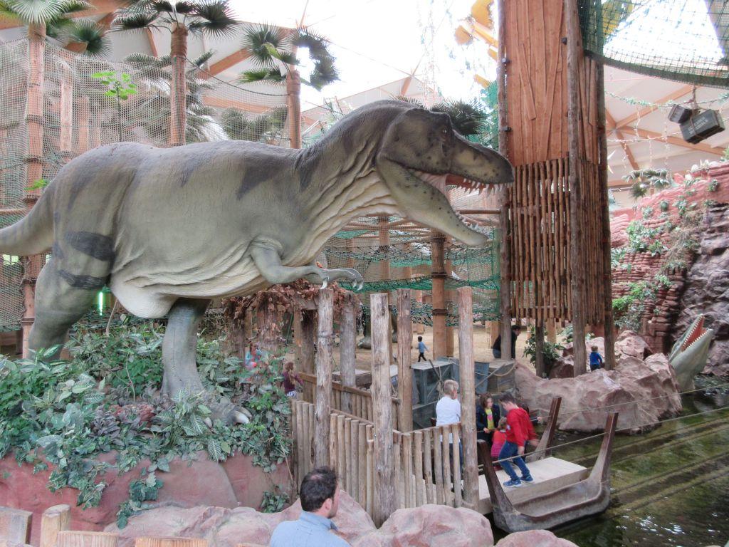 Spelen in het DinoDome