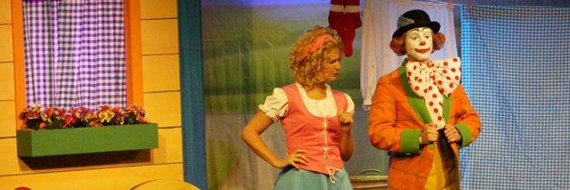 Pipo de Clown in de Julianatoren: sapperdeflap vrolijk theater voor kleuters en peuters (+WINACTIE)