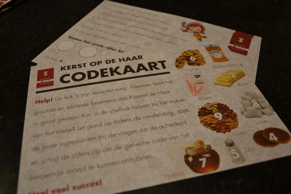 De codekaart