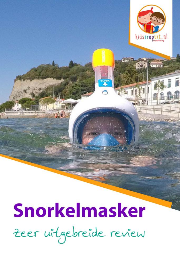 Uitgebreide review van het snorkelmasker van Decathlon