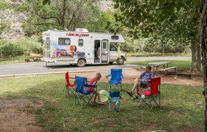 Als je rondreist met een camper, is je slaapplek altijd hetzelfde