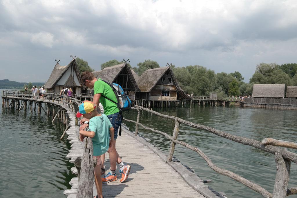 Het Pfahlbautenmuseum: werelderfgoed langs de Bodensee.