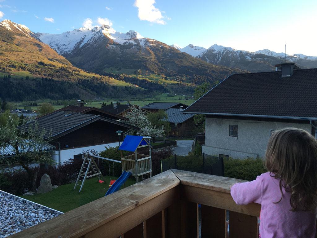 Chalet Sonnentanz, wat een uitzicht!