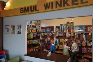 Het smulwinkeltje waar de kinderen hun smulgeld mogen uitgeven.