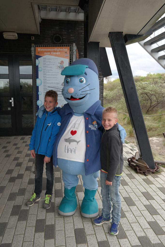 Olaf, de mascotte van Neeltje Jans.