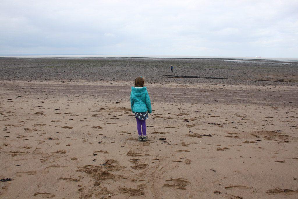 Even uitwaaien aan het strand, dat kan ook in Dunster.