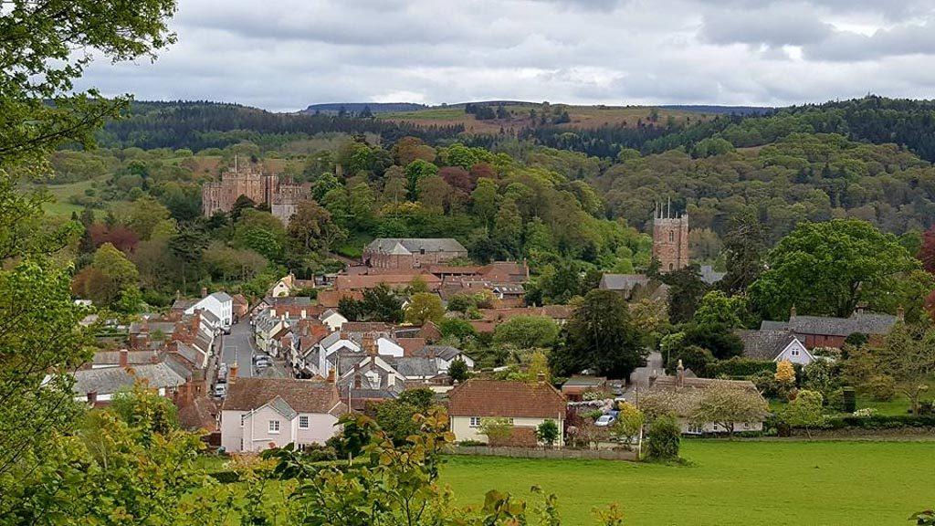 Ons doel van een dagje Dunster met kinderen: Dunster Castle.