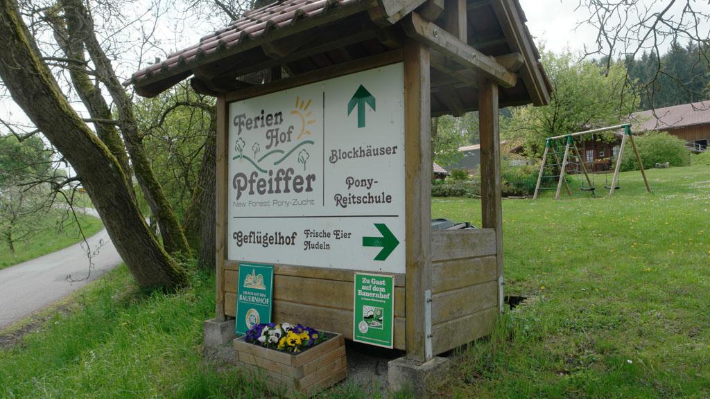 Welkom bij Ferienhof Pfeiffer.