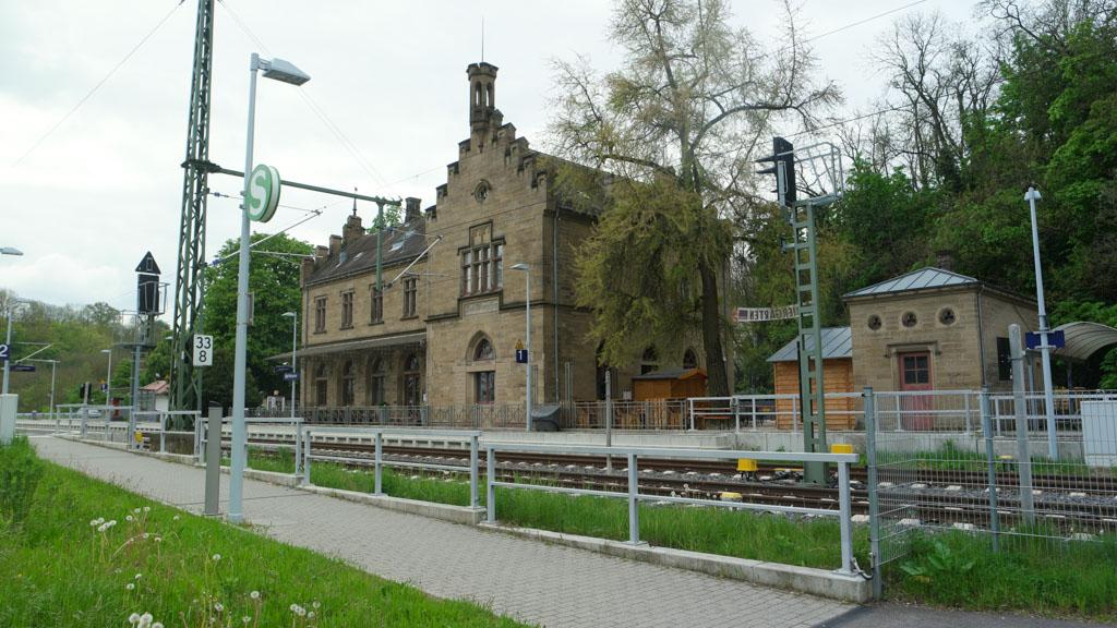 Het station van Bad Wipmfen.