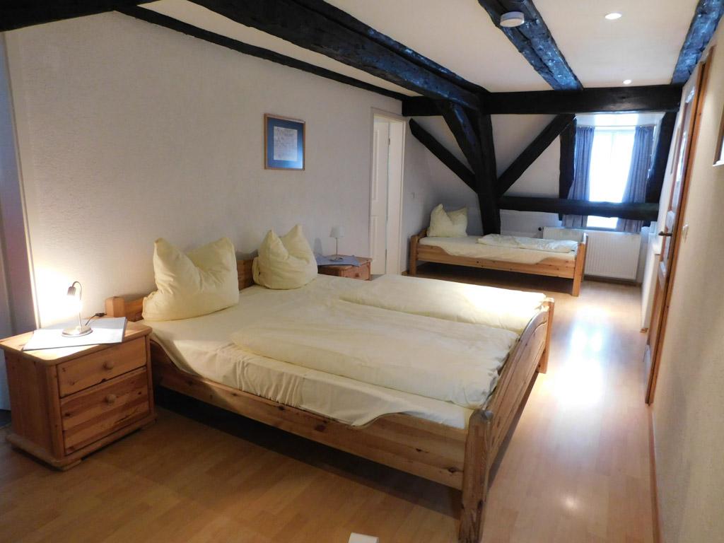 Een grote slaapkamer