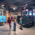 Terug in het Spoorwegmuseum in Stockholm bekijken we de rest van de tentoonstelling