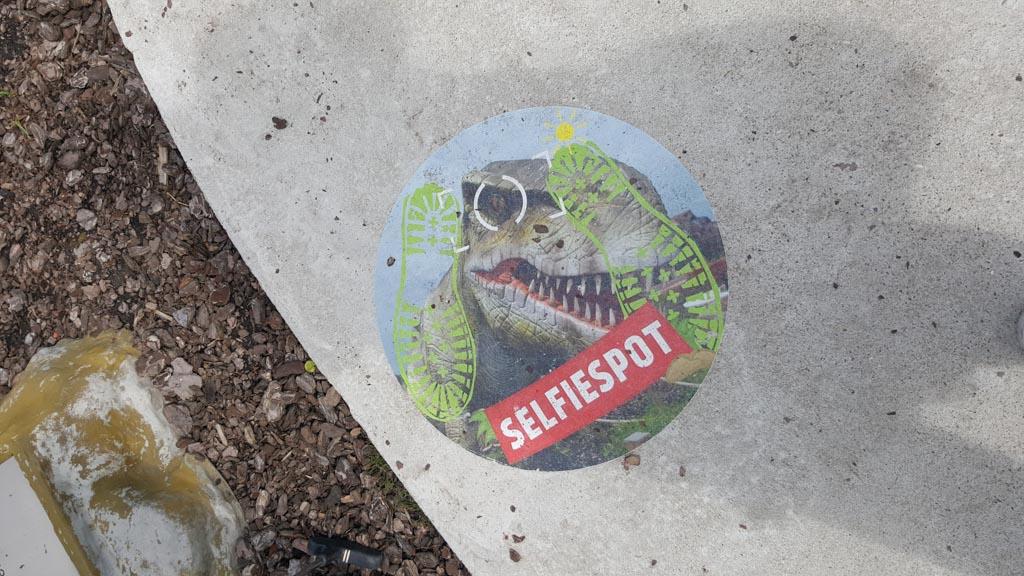 Jurassic Golf Oke...daar moet ik mijn voeten neer zetten