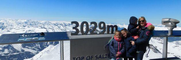 Met kinderen naar de Kitzsteinhorn, de hoge berg bij de gletsjer in Kaprun