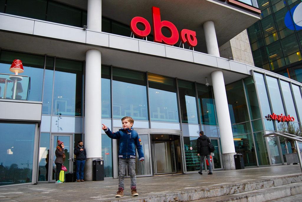 Het Muizenhuis in Amsterdam is gelegen in de Openbare Bibliotheek